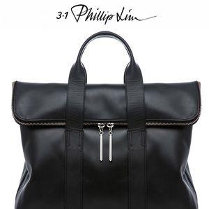 3.1 PHILLIP LIM Black Leather 31 Hour Bag